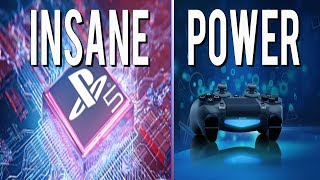 PS5 CPU to be FOUR Times More Powerful Than PS4! | INSANE Next Gen Power
