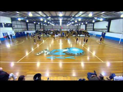 Aust vs NZ Mens Netball 2nd Test Trans Tasman 2014