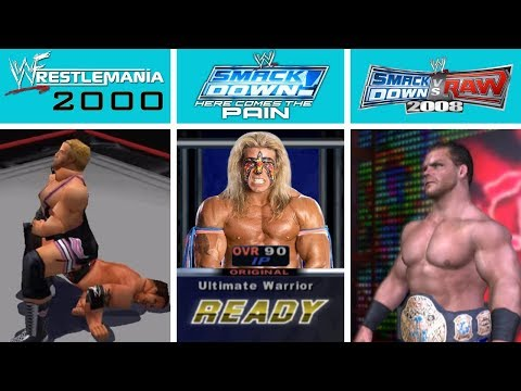 EVERY REMOVED Or BANNED Wrestler From WWE Video Games