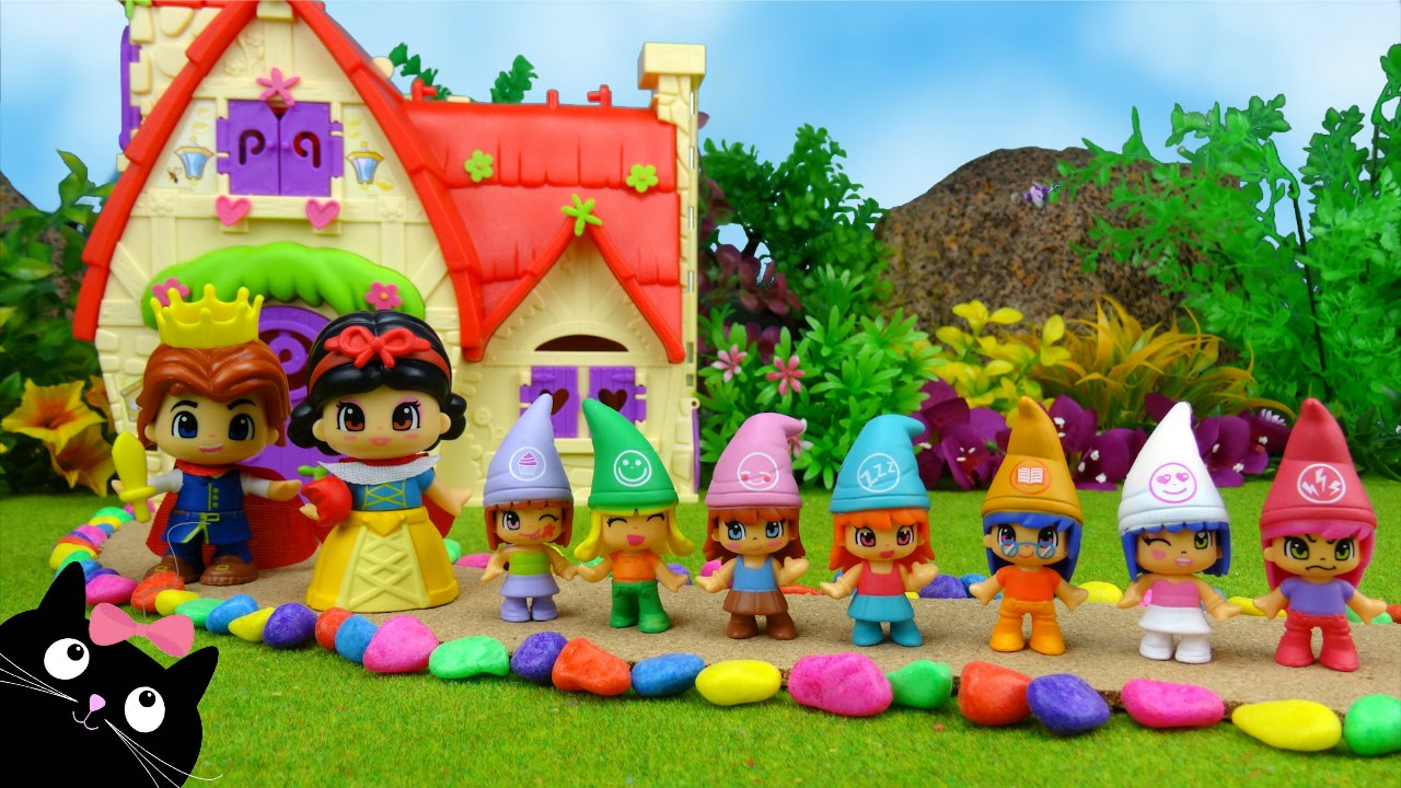 La casa de los cuentos de pinypon blancanieves y las - Casa de los juguetes ...