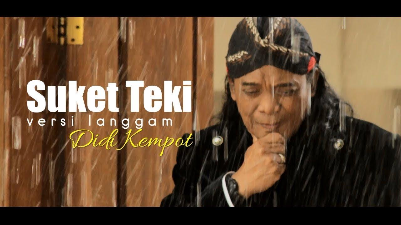 Didi Kempot - SUKET TEKI + SEWU KUTHO