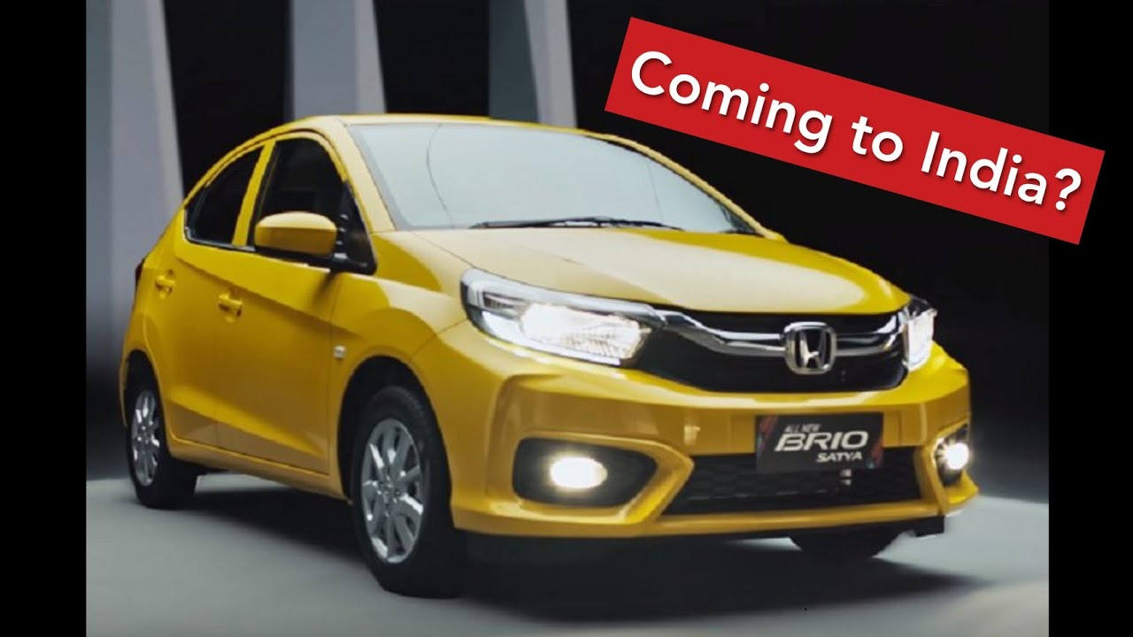 New Honda Brio 2019 Coming To India Icn Studio
