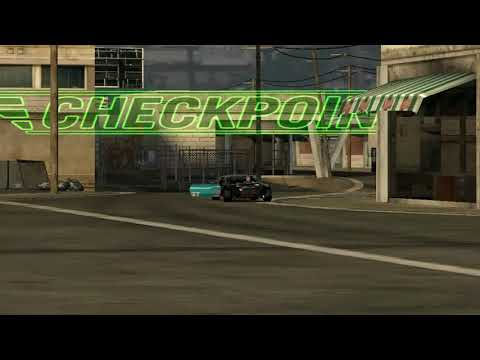 flatout 3 : race with replay 15 (time vs bomb 2) with my car of bullet