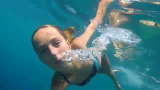 Carla Underwater - Summer fun swimming underwater