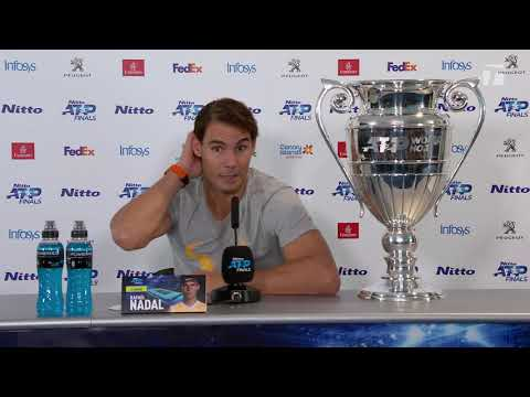 Rafael Nadal Press conference after his match against Tsitsipas / ATP Finals 2019