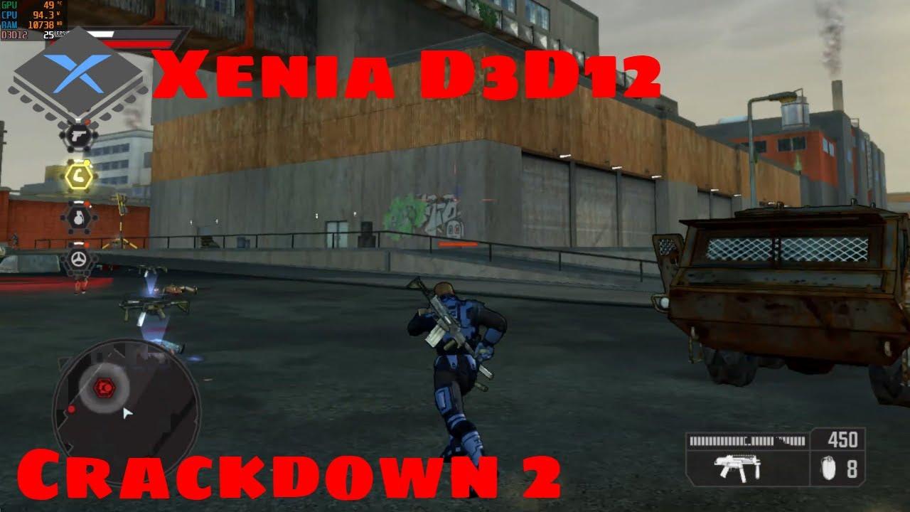 [XBOX 360 Emulator] Xenia D3D12 | Crackdown 2