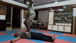 Systema Jogjakarta Indonesia - Kick Defense plus Bodyweight Massage