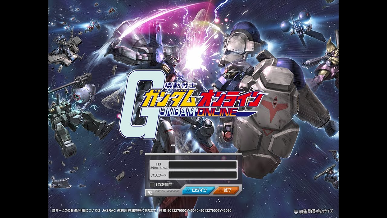Mobile Suit Gundam Online gameplay~~~EFSF #10 RX-80PR Pale Rider by P CHH