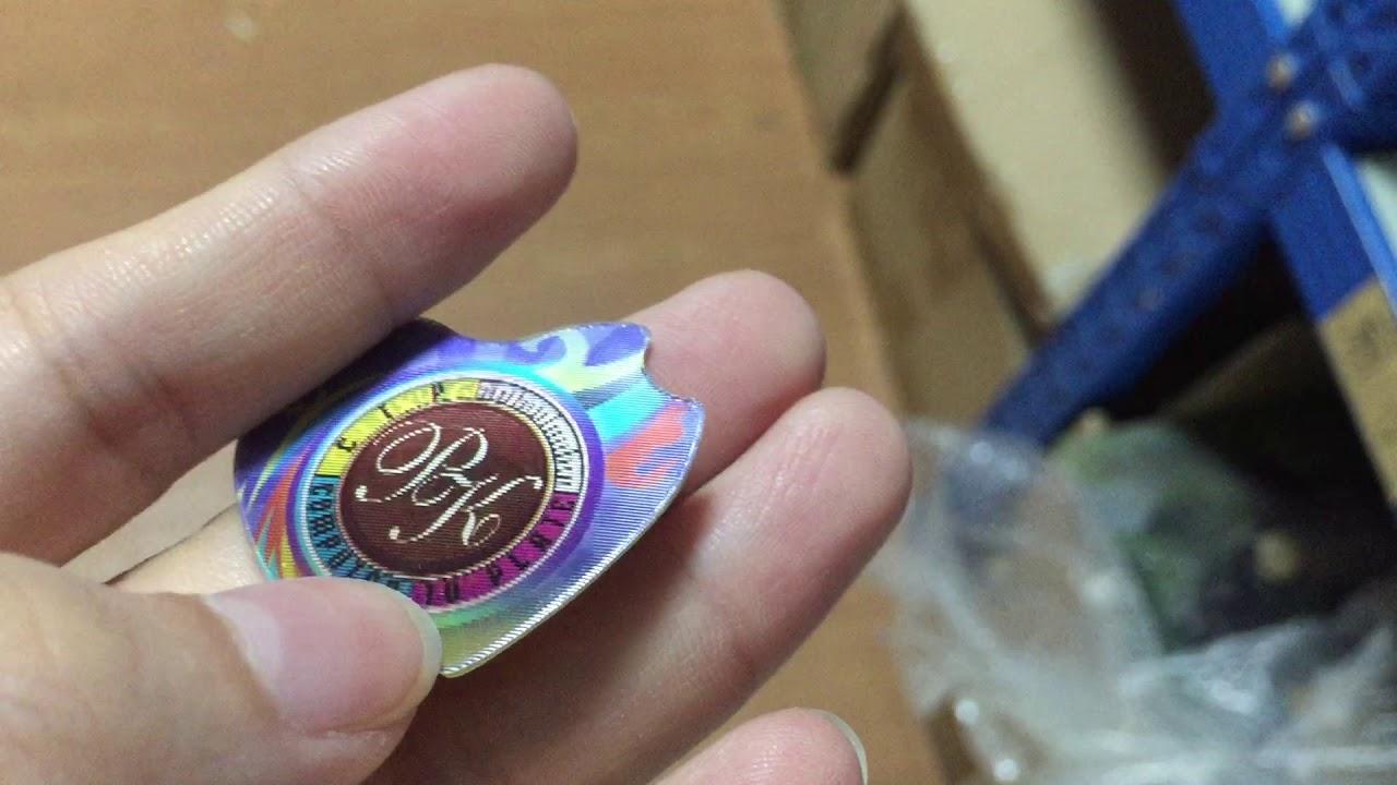 Flip effect sticker 3d lenticular sticker custom