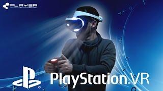 A PRIMEIRA EXPERIÊNCIA COM PLAYSTATION VR - PLAYER.PT
