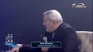 Conversando con Raul Grisanty junto a Nelson Javier en Buena Noche