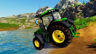 John Deere Spiel Traktor waschen | John Deere Game Wash Tractor 🚜 Landwirtschafts Simulator 2019 screenshot 5