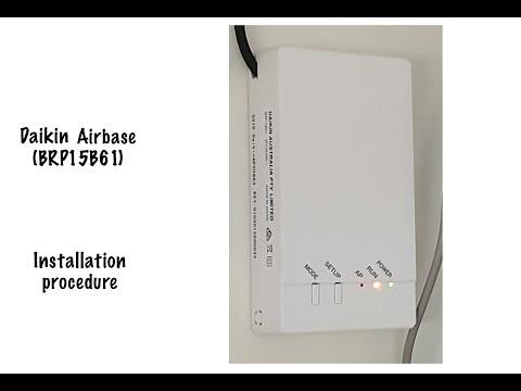Daikin Airbase install (BRP15B61 Wireless LAN adapter)