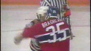 Donald Brashear vs Louie DeBrusk