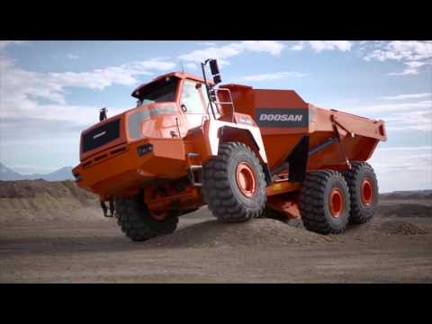 Doosan Articulated Dump Truck (ADT) Walkaround