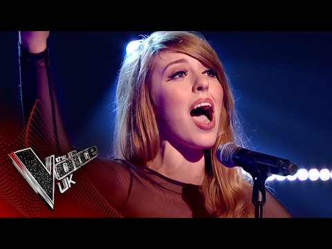 Ruth Lockwood performs 'Toxic': Blind Auditions 7 | The Voice UK 2017