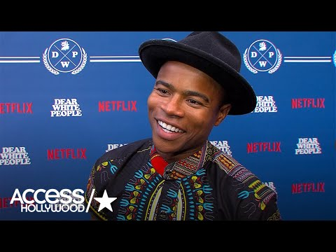 'Dear White People': Marque Richardson On The Importance Of Humor In The Series | Access Hollywood