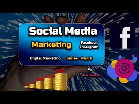 Social Media Marketing - (Facebook, Instagram) - Digital Marketing Series - PART 6 – [Hindi]