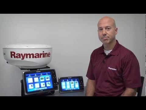 LightHouse v4 for Raymarine c-Series and e-Series Multifunction