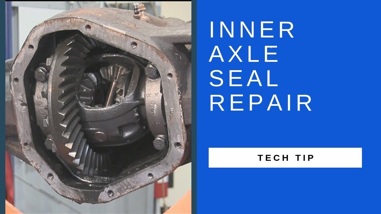Ford Super Duty Dana 50 60 Inner Axle Seal Repair Youtube
