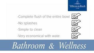 Advantages of DirectFlush WC, Rimless Toilets | Villeroy & Boch