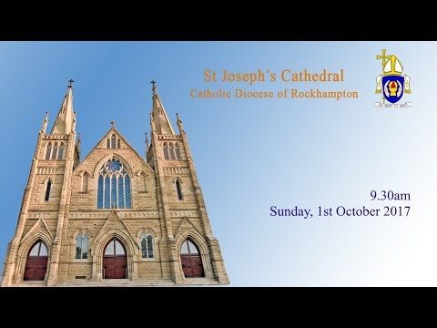 9.30am Mass, Sunday 1st October 2017