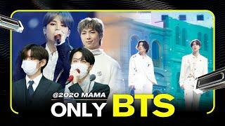 BTS(방탄소년단) at 2020 MAMA All Moments