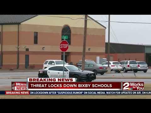 Threat locks down Bixby Schools