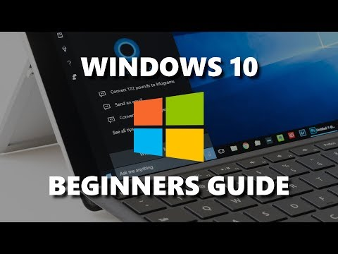Windows 10 (Beginners Guide) 2018