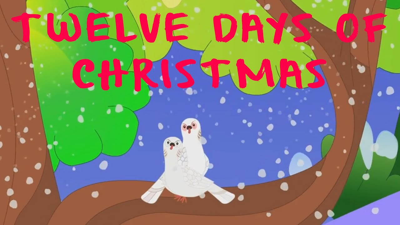 zwölf tage weihnachten | Weihnachtslieder | Twelve Days Of Christmas ...