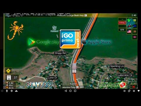 Truck GPS Navigation Dallas Texas , iGO NextGen, All Devices, All