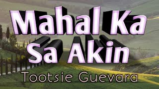 Download lagu Mahal Ka Sa Akin - Tootsie Guevara (KARAOKE VERSION)