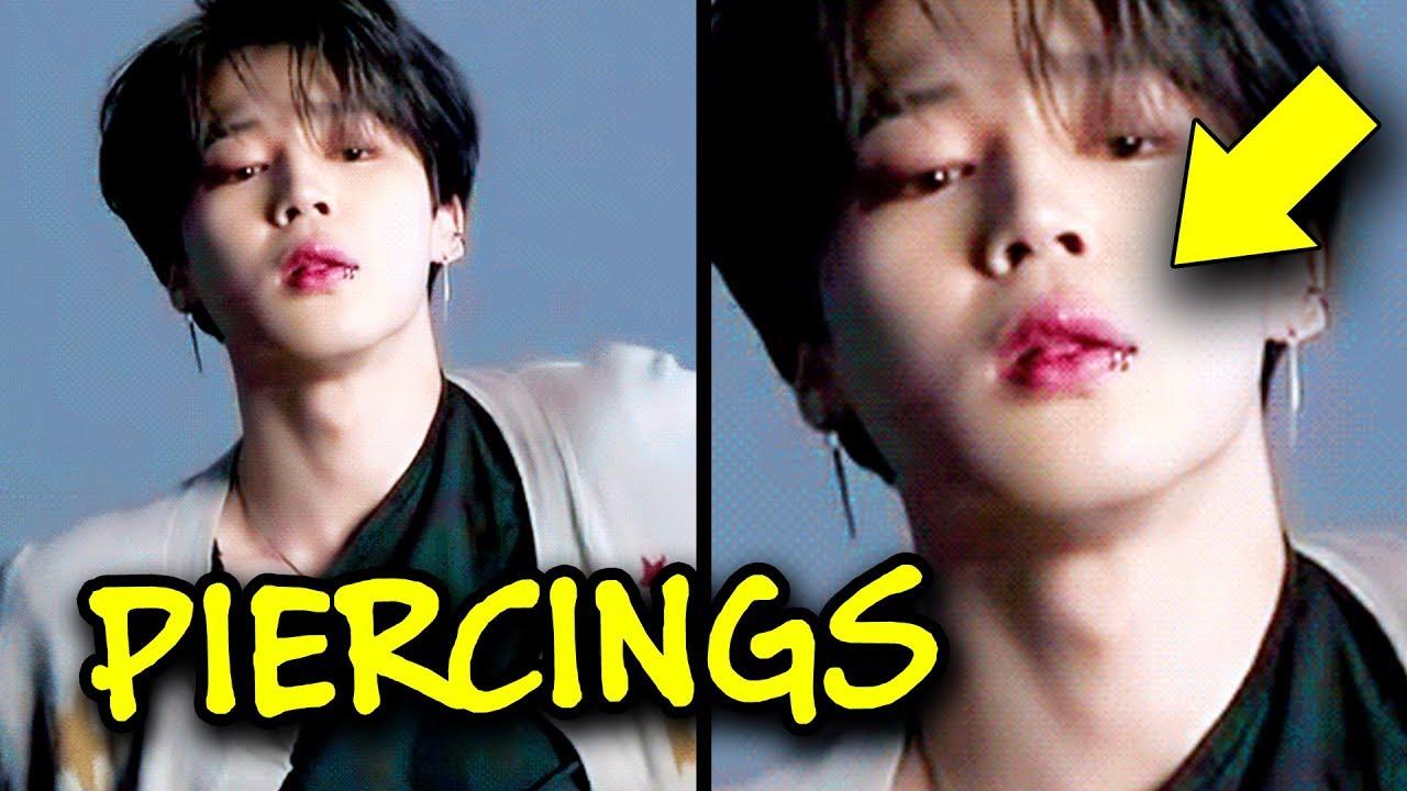 Bts Members Piercings Funny Story Youtube