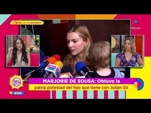 ¡Julián Gil pierde la patria potestad del hijo que tiene con Marjorie De Sousa! | Sale el Sol
