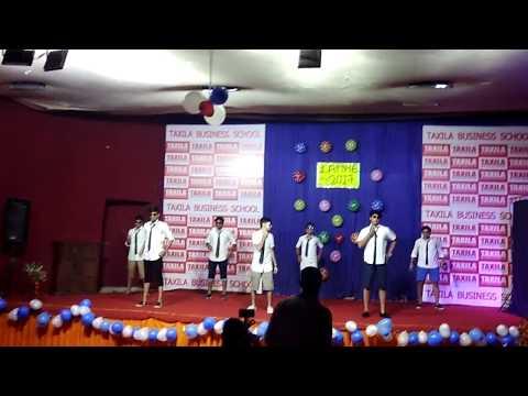 Still Dance in Taxila Business School, Jaipur, Rajasthan