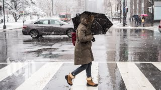 D.C. slated to get 2 to 5 inches of snow and a 'treacherous' commute