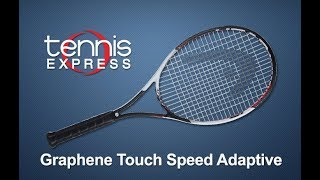 Head Graphene Touch Speed Adaptive Racquet Review | Tennis Express