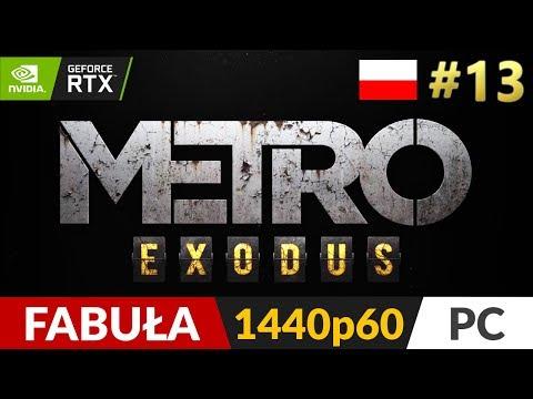 Metro Exodus PL 🌄 #13 (odc.13) ❄️ Minister | Gameplay po polsku