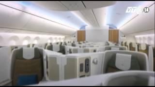 VTC14_ Vietnam Airlines đón máy bay  Boeing 787 đầu tiên