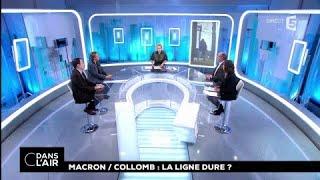 Macron / Collomb : la ligne dure ? #cdanslair 11.01.2018