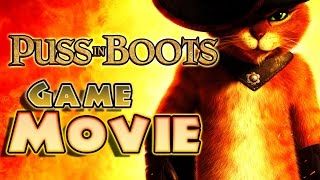 Puss in Boots All Cutscenes | Full Game Movie (PS3, X360, Wii)