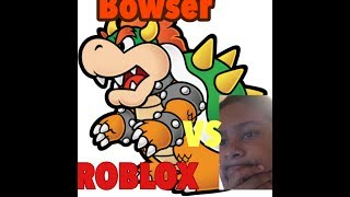 Bowser Fight- Roblox Boss Battle Mini Games 3 pt 2