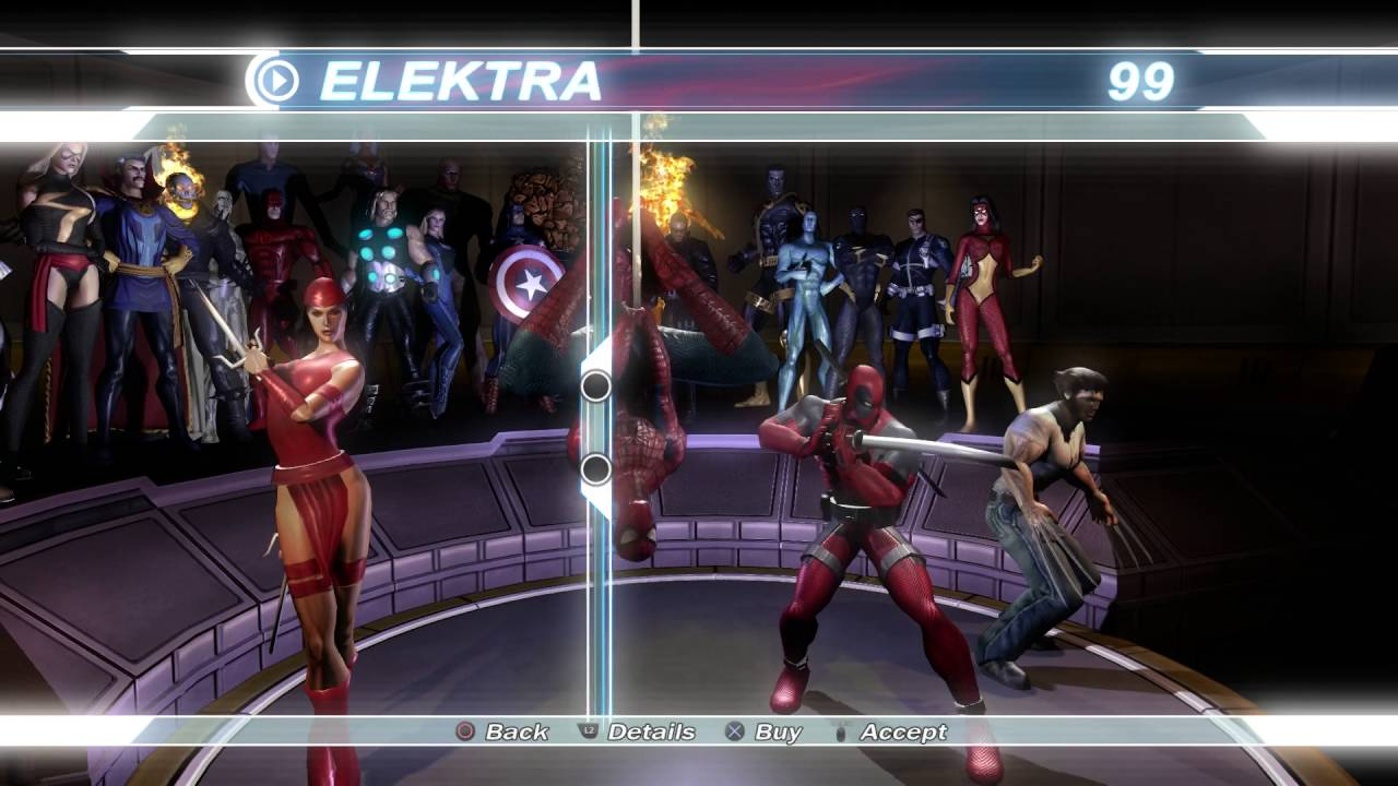 & Marvel Ultimate Alliance | All Heroes and Costumes [PS4] - YouTube