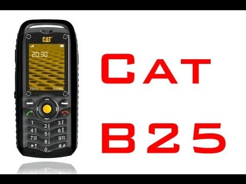 CAT B25 mobile hands on