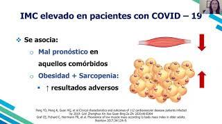 """""""Recomendaciones nutricionales y apoyo nutricional especializado en adulto mayor con COVID-19."""""""