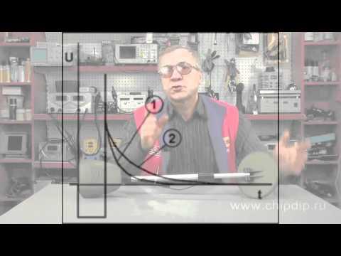 Видео Принцип работы импульсного металлоискателя. ...