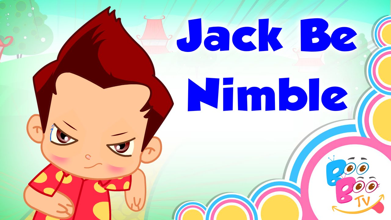 jack be nimble with lyrics english kids nursery rhyme video song for children by boo boo tv. Black Bedroom Furniture Sets. Home Design Ideas