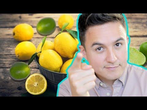 Cascara de limon hervida para adelgazar