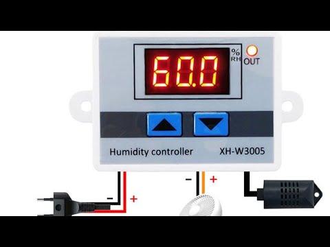 Hava nemlendirici için nem kontrol cihazı ( Humidity controller device for Air humidifier)