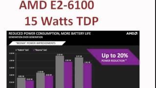AMD E2-6110 the Beema Processor